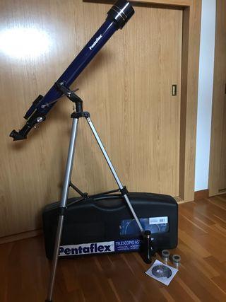 Telescopio pentaflex