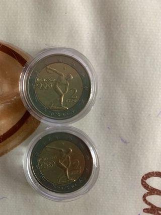 Monedas 2€ repetidas cambio