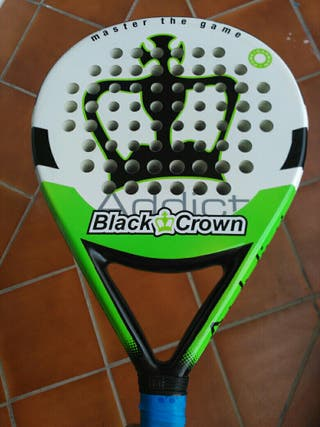 Pala pádel black crown