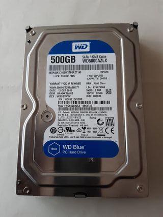 Disco Duro WD5000AZLX 500 GB