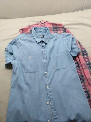 camisa talla s lote de tres