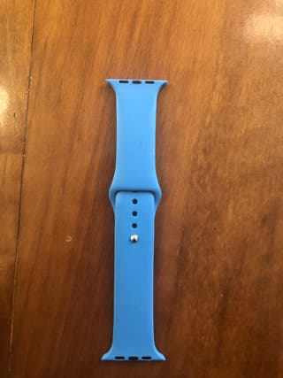 Correa azul para Apple Watch