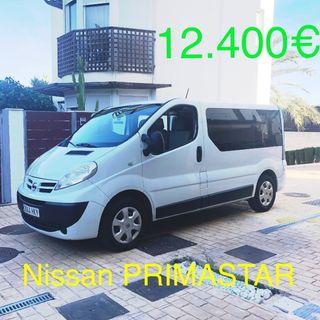 Nissan PRIMASTAR 2012 9 plazas con Dvd techo