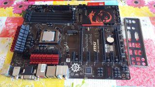 Pack i7 4790k + Msi Z87 G45 Gaming