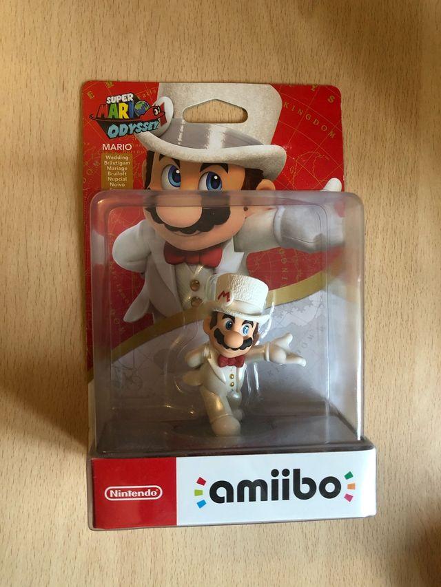 Amiibo Mario Oddyssey precintado