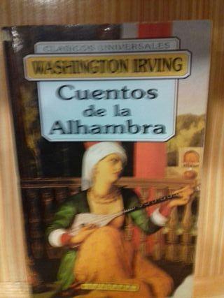 Libro Cuentos de la Alhambra Washington Irving