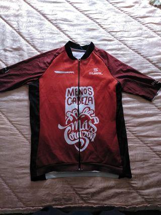 maillot ciclista sural
