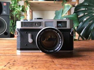 Canon 7 Telemétrica 50mm 1.4 M39 LEICA M Camara 35