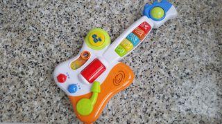GUITARRA MUSICAL INFANTIL, COMO NUEVA
