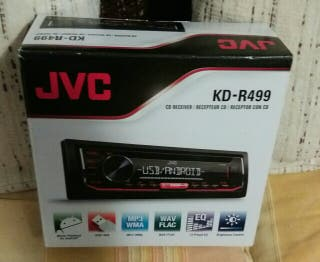 RADIO COCHE JVC CD, USB,