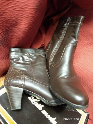 botas de señora.