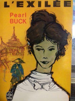 Libro L'exilee Pearl Buck Idioma francés