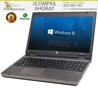 Portátil HP ProBook 6560B, i5/Gráfica dedicada/Cam