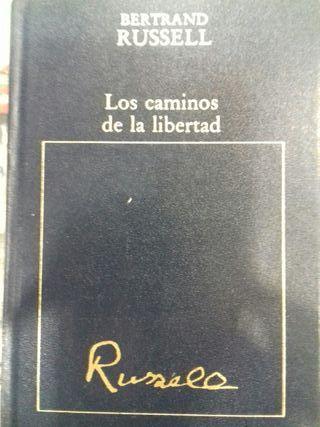 Libro Los caminos de la libertad Bertrand Russell