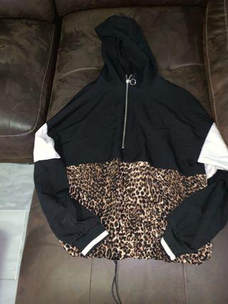 Sudadera mujer leopardo Talla M