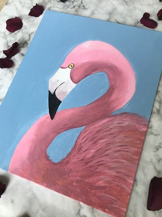 Tableau peinture acrylique fait à la main