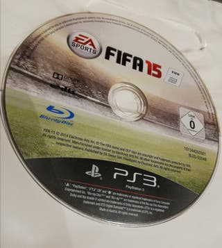 juego FIFA 15 Ps3