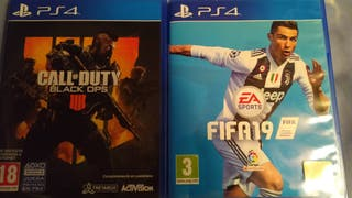 Fifa 19 & Call of Duty Black Ops