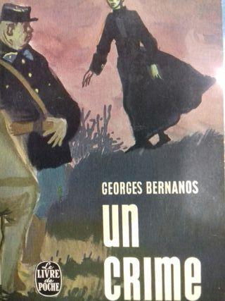 Libro Un crime Georges Bernanos Idioma francés