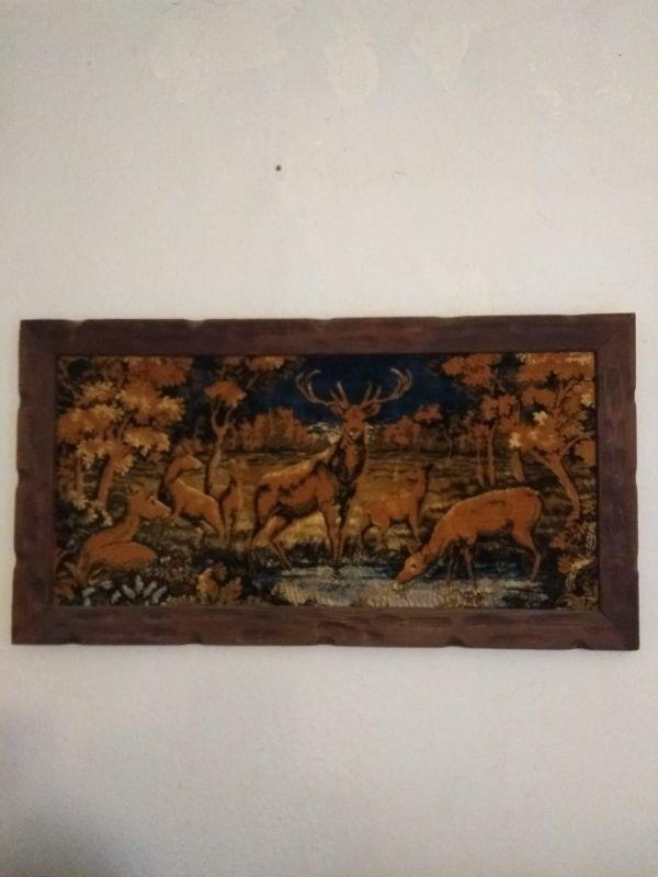 Cuadro de caza vintage