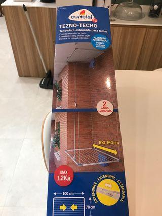 Tendedero extensible para techo