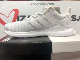 Adidas runfalcon blancas mujer de segunda mano por 39,9 € en ...