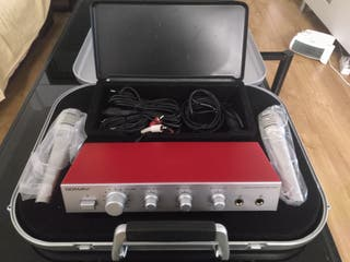 Karaoke amplificador