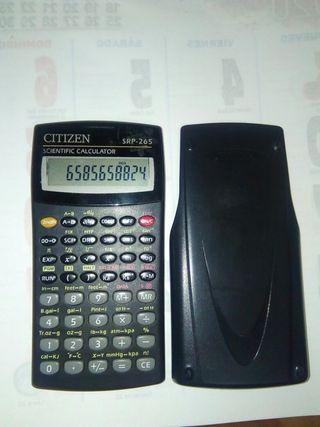 calculadora científica citizen