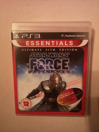 Star Wars force unleashed cómo nuevo perfecto