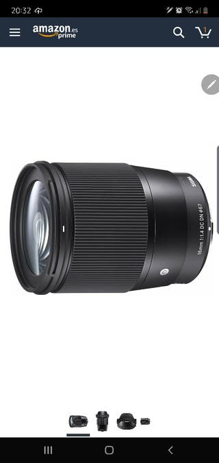 Sigma 16 mm F1.4 DC DN Contemporary