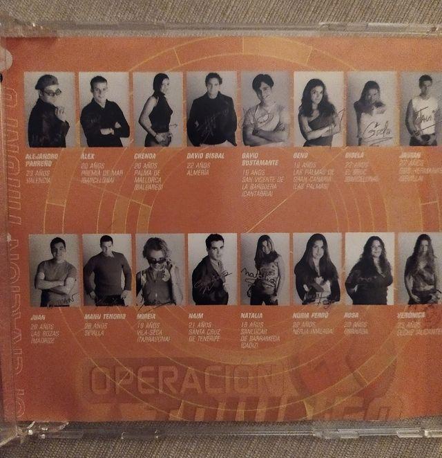Cd's de Operación Triunfo