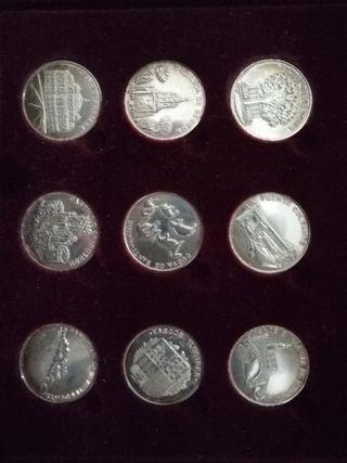 monedas de plata de ley 925