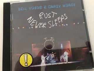 CD Neil Young. Rust Never Sleeps.