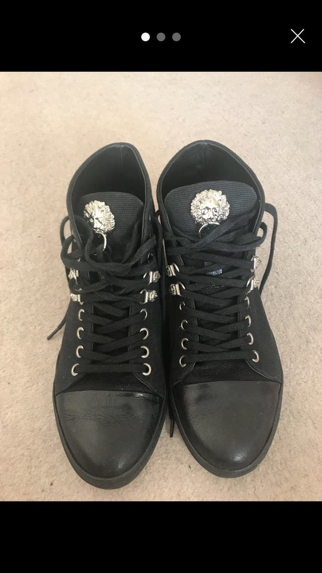 Versace smart trainers size 6
