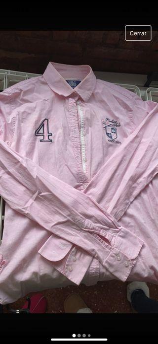 Camisa valecuatro rosa