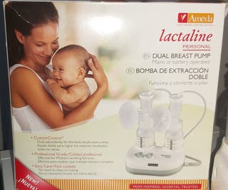 sacaleches Ameda Lactaline bomba extracción doble