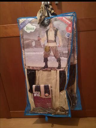 dos trajes carnaval pirata con complementos