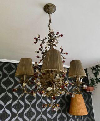 Preciosa Lámpara de salón