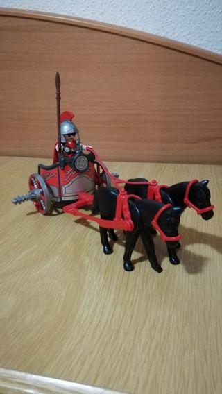 Carro romano y soldado Playmobil