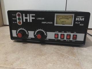 Amplificador lineal de válvulas para emisora. 400w