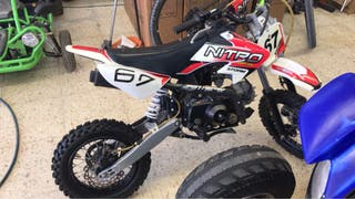 Pitbike 110cc automática