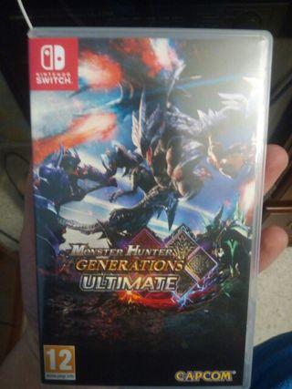 (€ Negociable) Monster Hunter Generations U