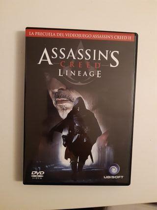 PELÍCULA DVD Assassin's Creed Lineage