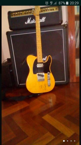Telecaster Special Deluxe sign by Johnny Winter