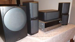 Harman Kardon avr340 + Altavoces Infinity Beta HCS