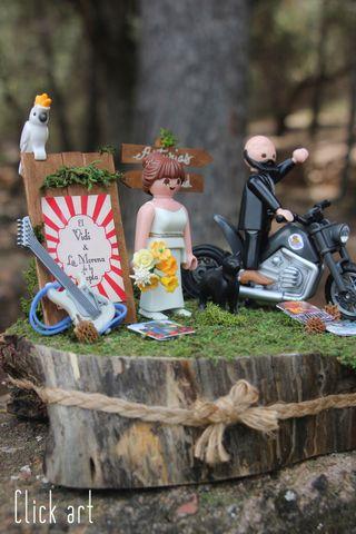 Playmobil peana de boda con novios
