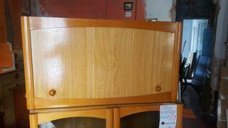 mueble puerta abatible madera pino claro