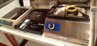 Wok, placa induccion, cocina sobremesa