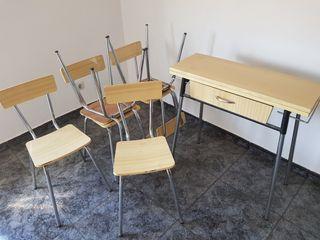mesa +6 sillas cocina