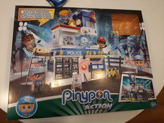 Pinypon Action Comisaria y coche policía.